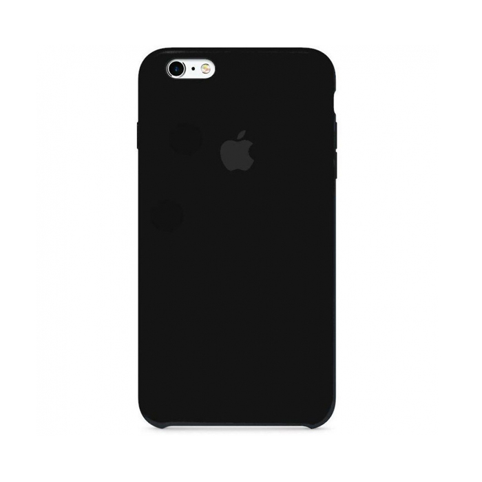 Чехол Silicone Case для Iphone 6 Plus черный
