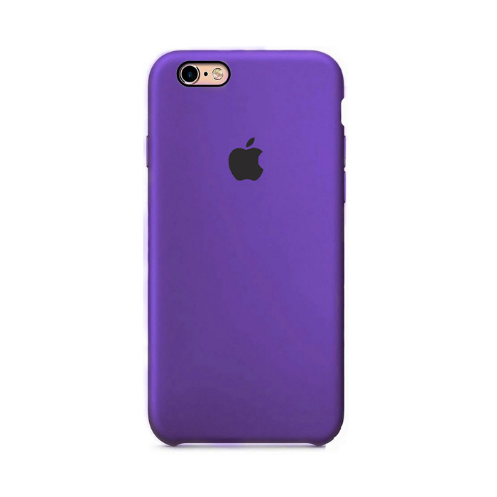 Чехол Silicone Case для Iphone 6 Plus фиолетовый
