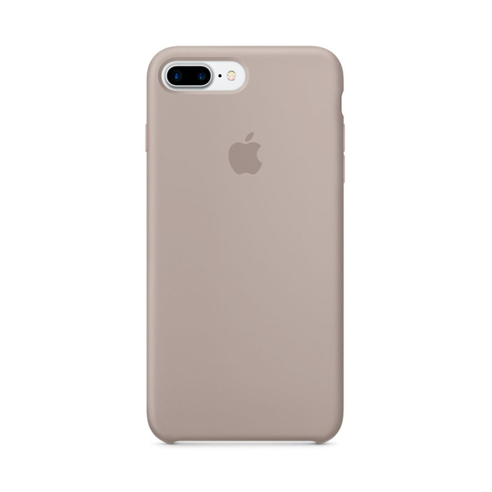 Чехол Silicone Case для Iphone 7/8 Plus бежевый