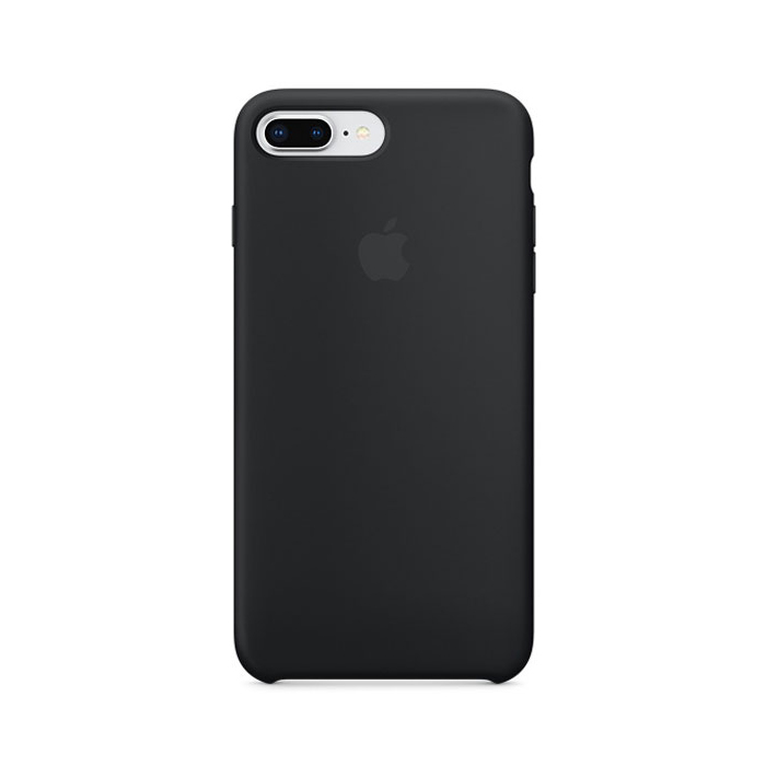 Чехол Silicone Case для Iphone 7/8 Plus черный