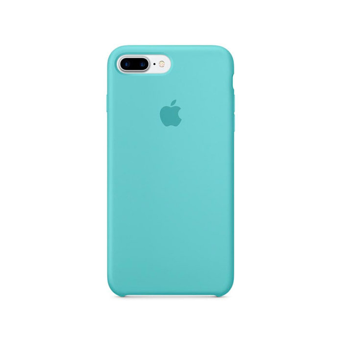 Чехол Silicone Case для Iphone 7/8 Plus голубой