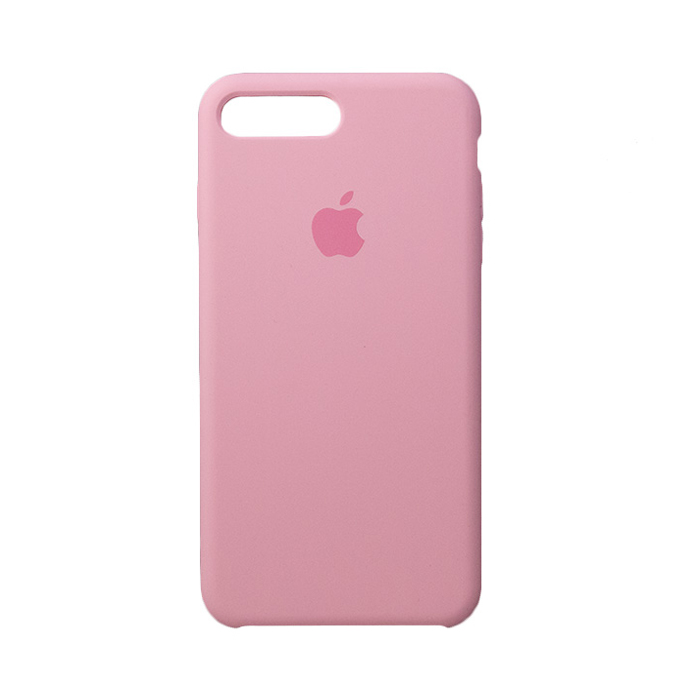 Чехол Silicone Case для Iphone 7/8 Plus розовый
