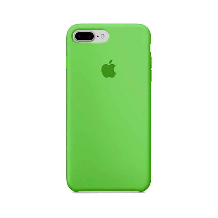 Чехол Silicone Case для Iphone 7/8 Plus зеленый