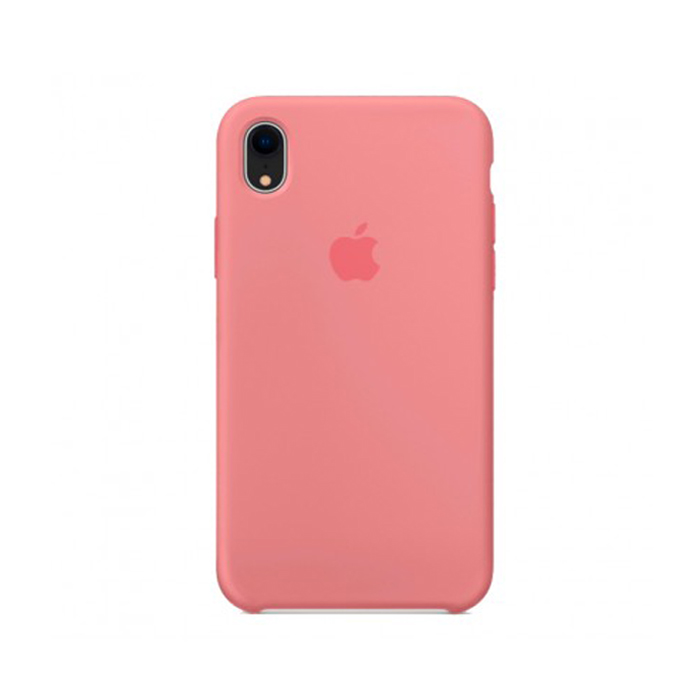 Чехол Silicone Case для Iphone XR розовый