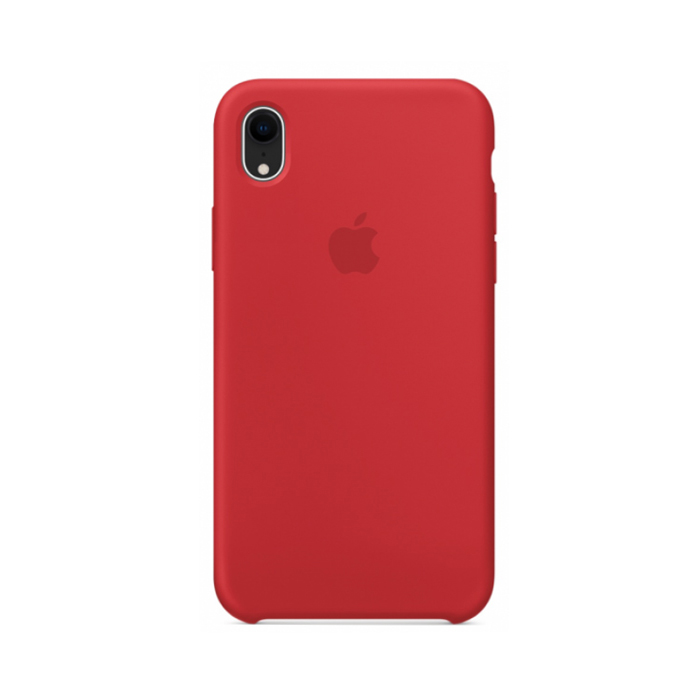 Чехол Silicone Case для Iphone XR красный