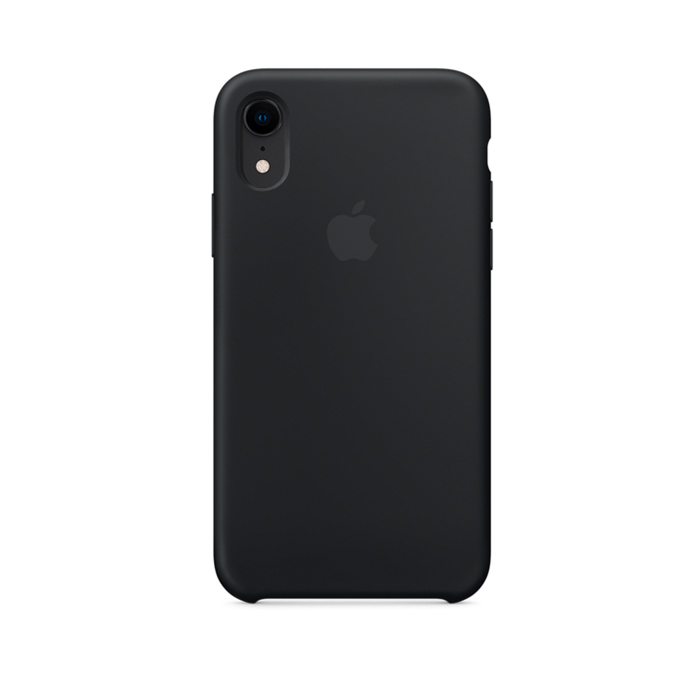 Чехол Silicone Case для Iphone XR черный