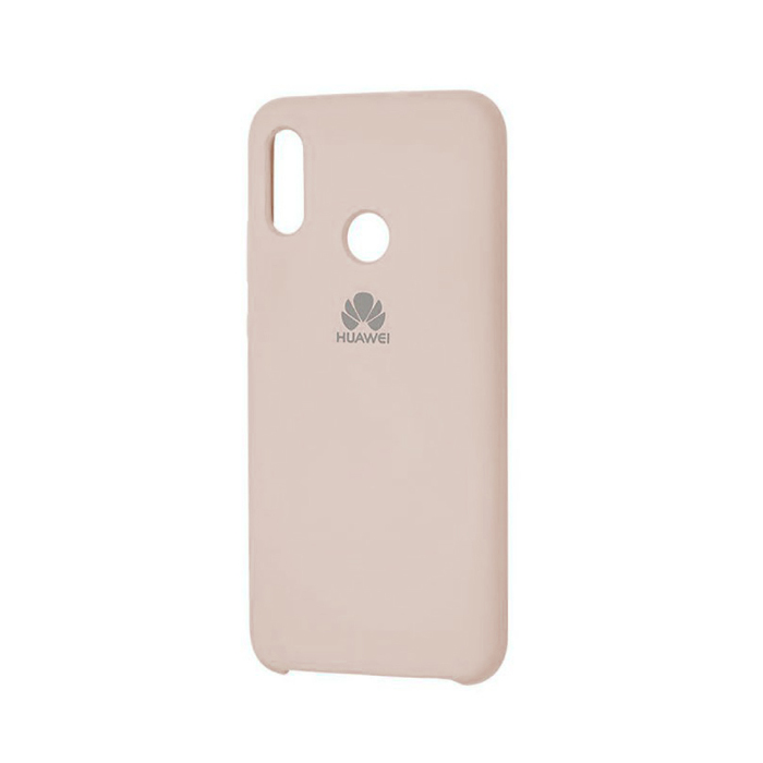 Чехол Silicone Cover для Huawei Honor 10 Lite / P Smart (2019) Бежевый