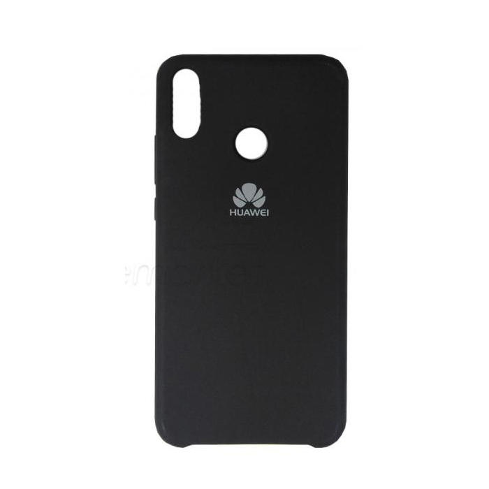 Чехол Silicone Cover для Huawei Honor 10 Lite / P Smart (2019) Черный
